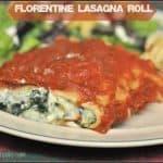 Florentine Lasagna Roll