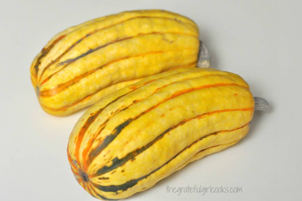 Rosted Delicata Squash with Maple and Sage / The Grateful Girl Cooks!