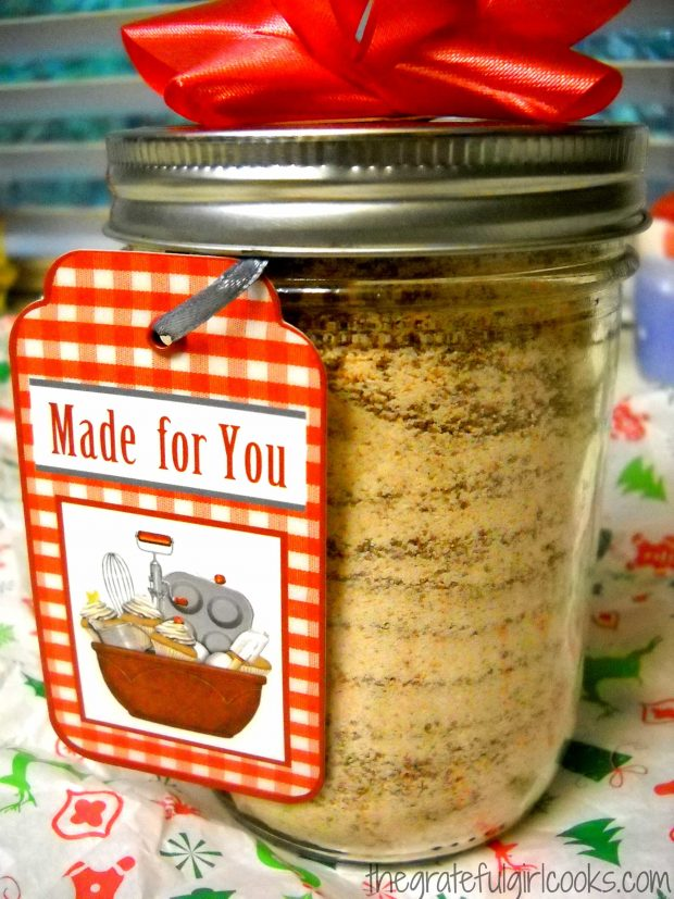 Spiced Tea Mix in jars make a lovely gift for friends during the holidays!