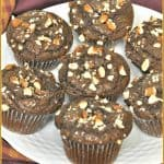Dark Chocolate Almond Chia Muffins