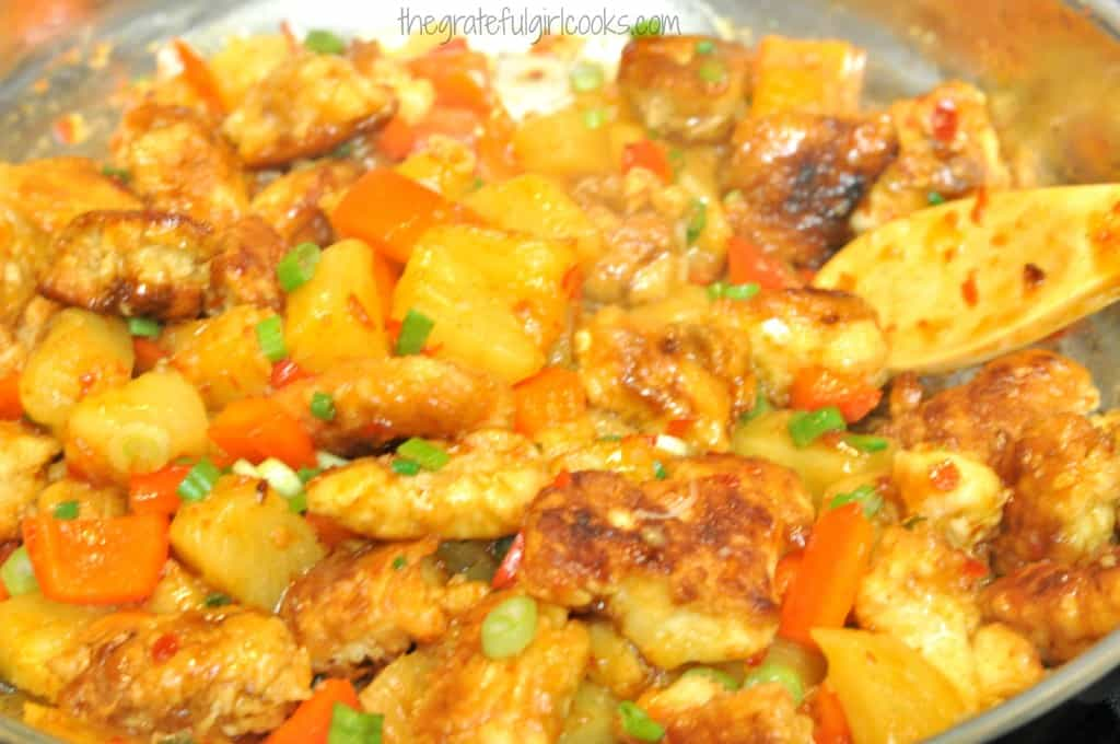 Sweet Fire Chicken (Panda Express Copycat) / The Grateful Girl Cooks!
