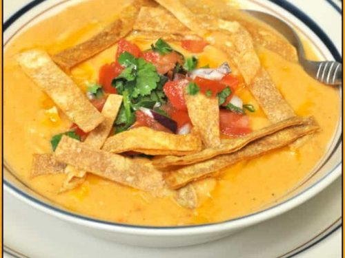 Chili S Chicken Enchilada Soup Copycat The Grateful Girl Cooks