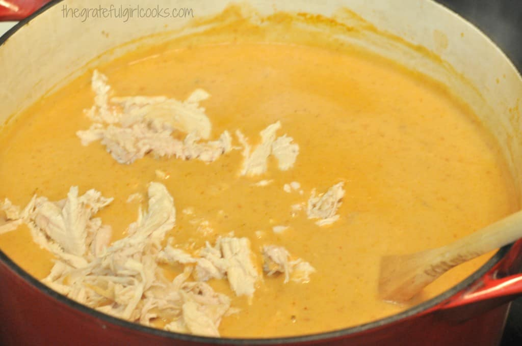 Chili's Chicken Enchilada Soup (copycat) / The Grateful Girl Cooks!