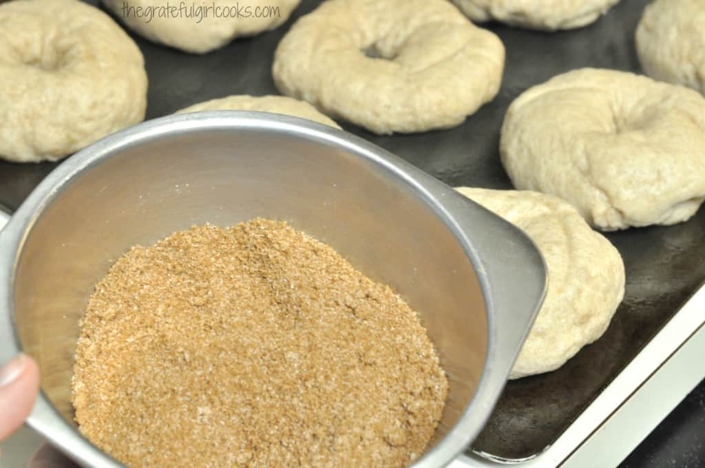 Cinnamon Crunch Bagels / The Grateful Girl Cooks!