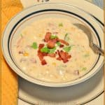 Corn, Bacon & Potato Chowder
