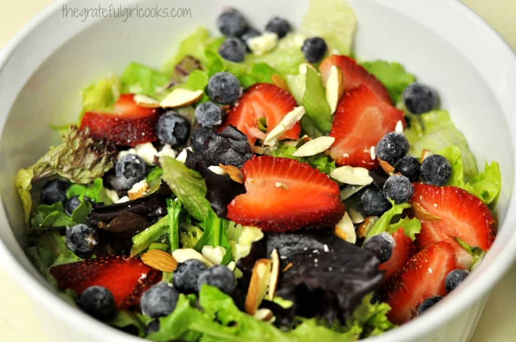Poppyseed Salad Dressing / The Grateful Girl Cooks!