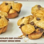 Chocolate Chip-Coconut Monkey Bread Minis
