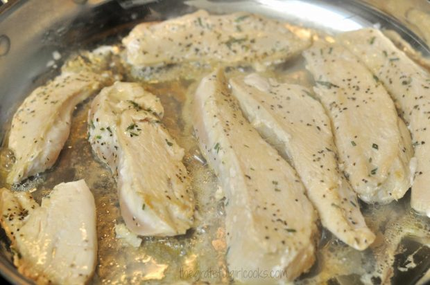 Rosemary Chicken With Caramelized Onion Wine Sauce / The Grateful Girl Cooks!