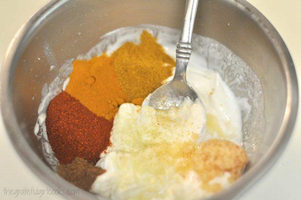 Tandoori Chicken (Weight Watchers) / The Grateful Girl Cooks!
