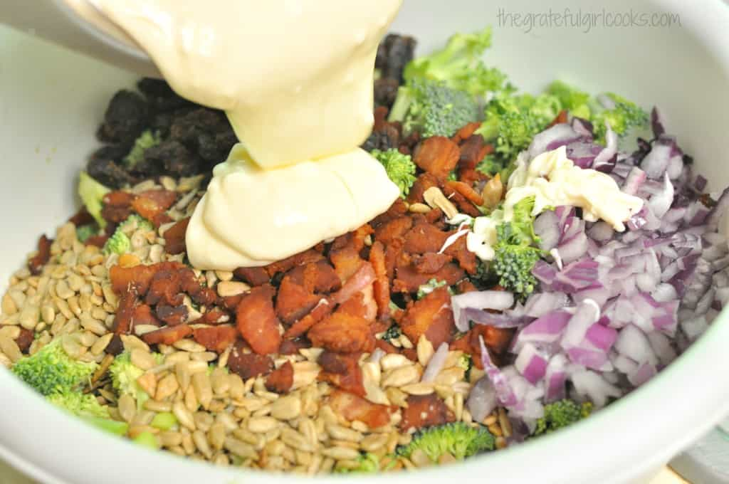 Broccoli Salad / The Grateful Girl Cooks!