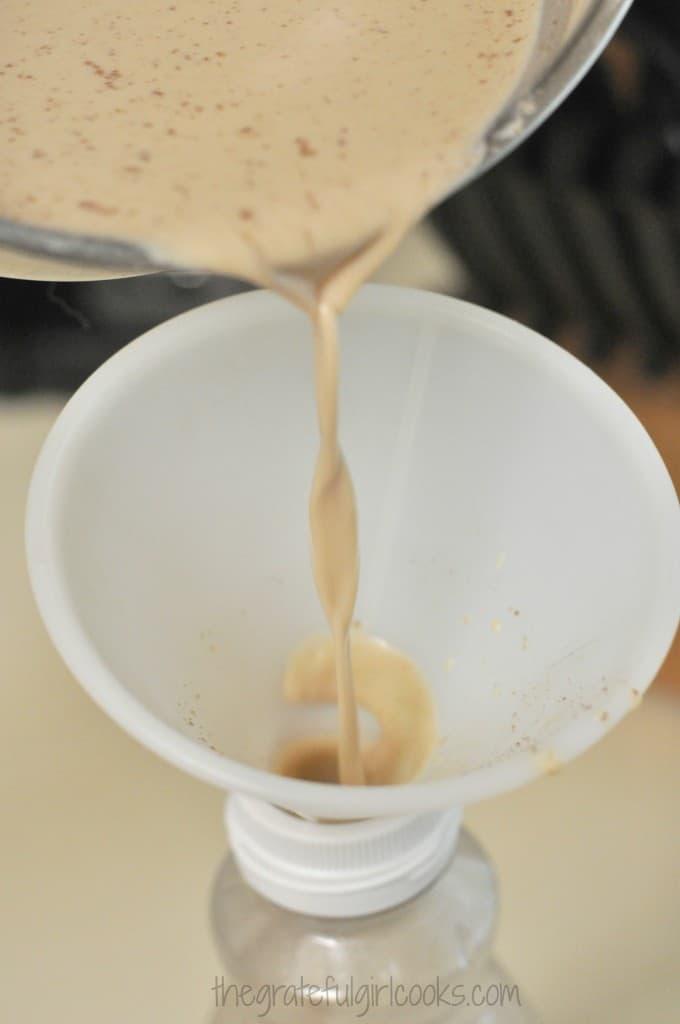 Cinnamon Roll Cofee Creamer / The Grateful Girl Cooks!
