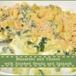 Macaroni and Cheese with Smoked Gouda and Spinach