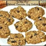 """""""21 Day Fix"""" Oatmeal Chocolate Chip Cookies"""