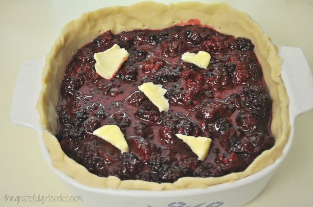 Deep Dish Boysenberry Pie / The Grateful Girl Cooks!