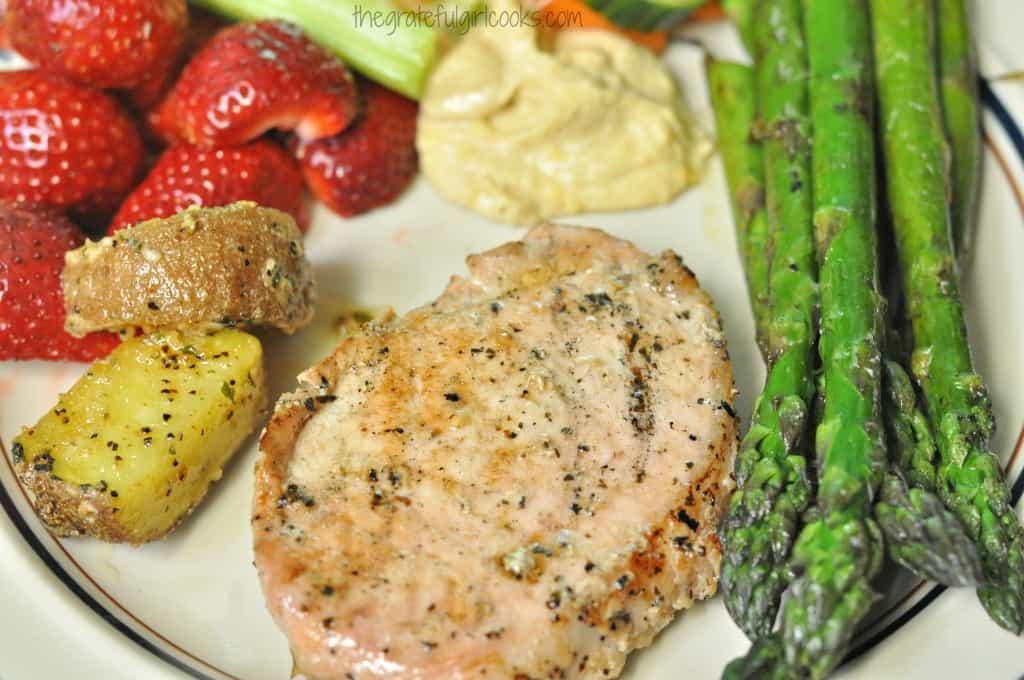 Marinated Grilled Pork Chops / The Grateful Girl Cooks!