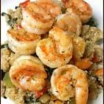 Shrimp, Quinoa & Veggie Bowl