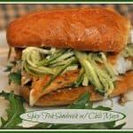 Spicy Fish Sandwich w/Chili Mayo