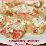 Strawberry-Rhubarb Dream Bars