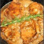 Balsamic Brown Sugar & Rosemary Pork Chops