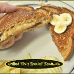 "Grilled ""Elvis Special"" Sandwich"