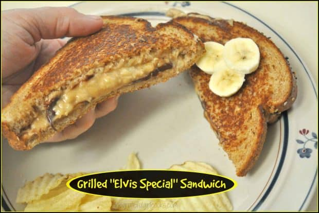 "Grilled ""Elvis Special"" Sandwich / The Grateful Girl Cooks!"