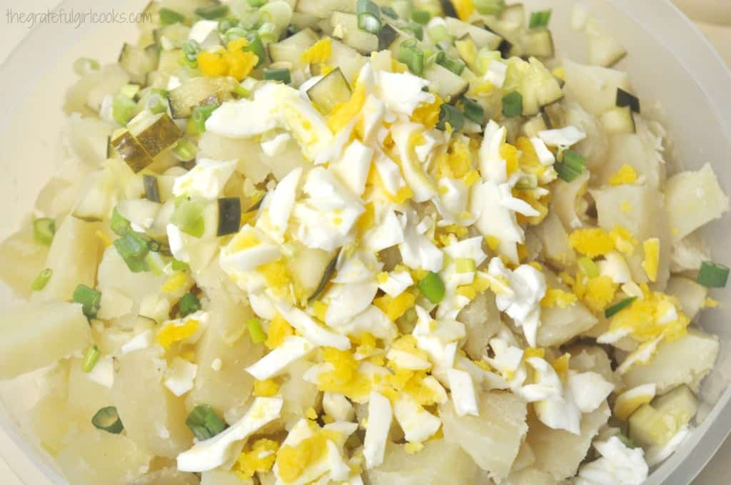 Potato Salad / The Grateful Girl Cooks!