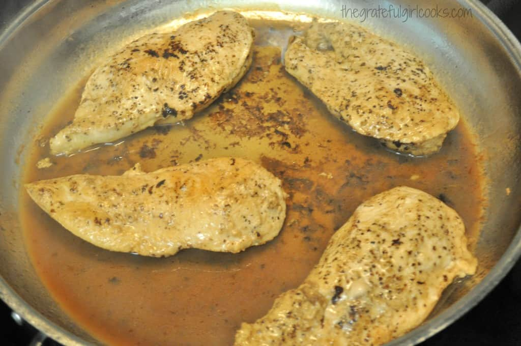 Skillet Monterey Chicken / The Grateful Girl Cooks!