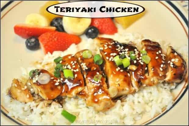 Teriyaki Chicken / The Grateful Girl Cooks!