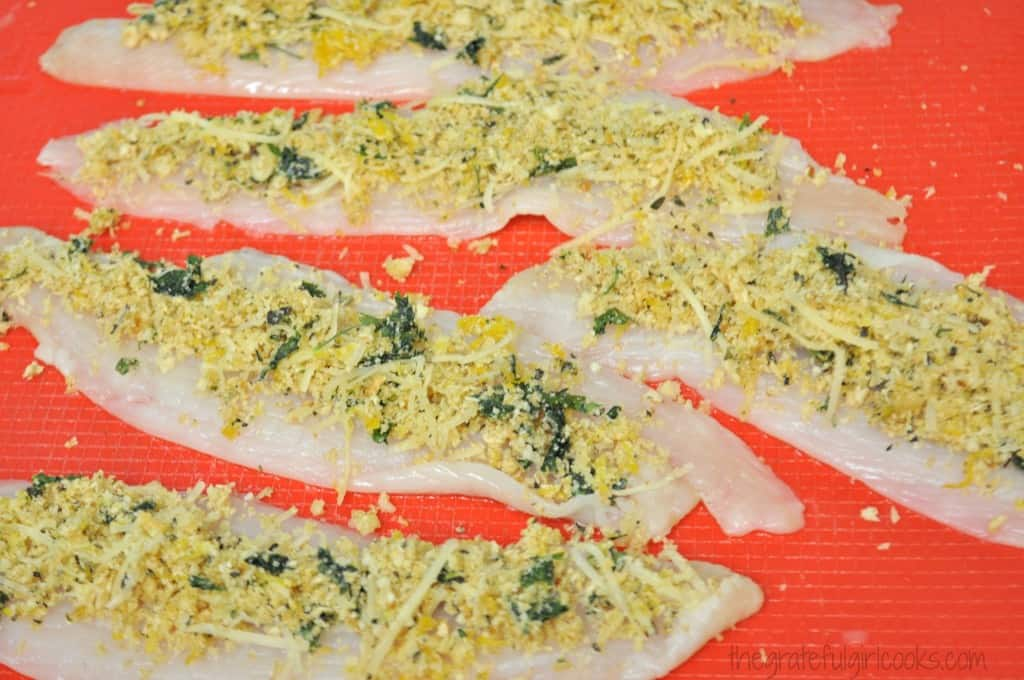 Baked Dover Sole Rollatini / The Grateful Girl Cooks!