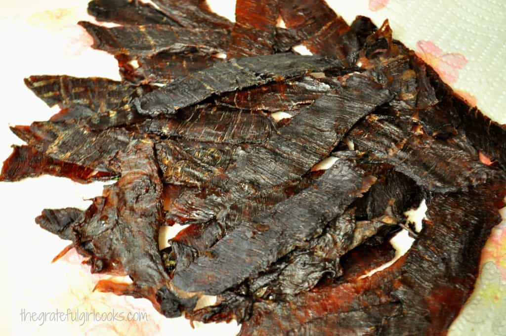 Beef Jerky DIY / The Grateful Girl Cooks!