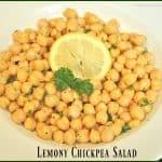 Lemony Chickpea Salad