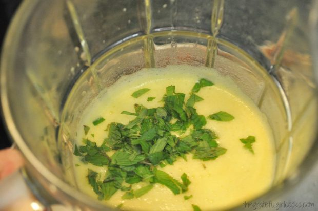 Pineapple, Lime & Mint Agua Fresca / The Grateful Girl Cooks!
