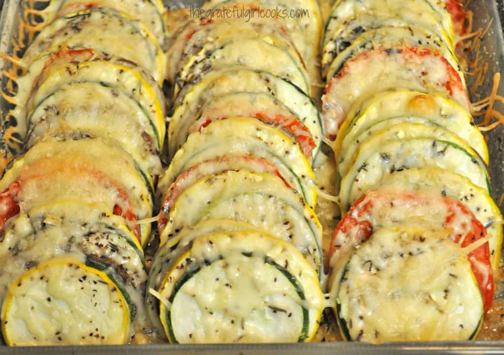 Summer Vegetable Tian / The Grateful Girl Cooks!