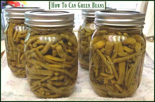 Overrun with fresh garden green beans this summer? Learn how to can green beans for long term storage, to enjoy all year long!