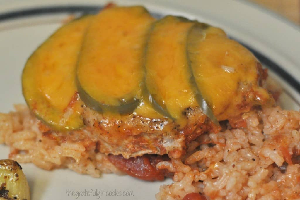 Pork Chops Olé / The Grateful Girl Cooks!