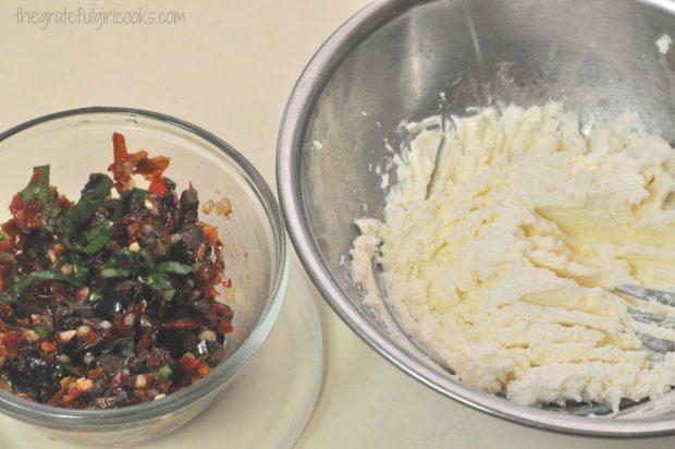 Sun-Dried Tomato And Kalamata Olive Bruschetta / The Grateful Girl Cooks!