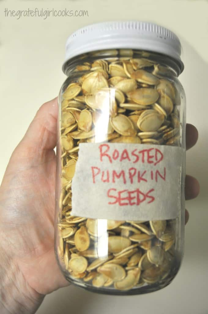 How To Roast Pumpkin Seeds / The Grateful Girl Cooks!