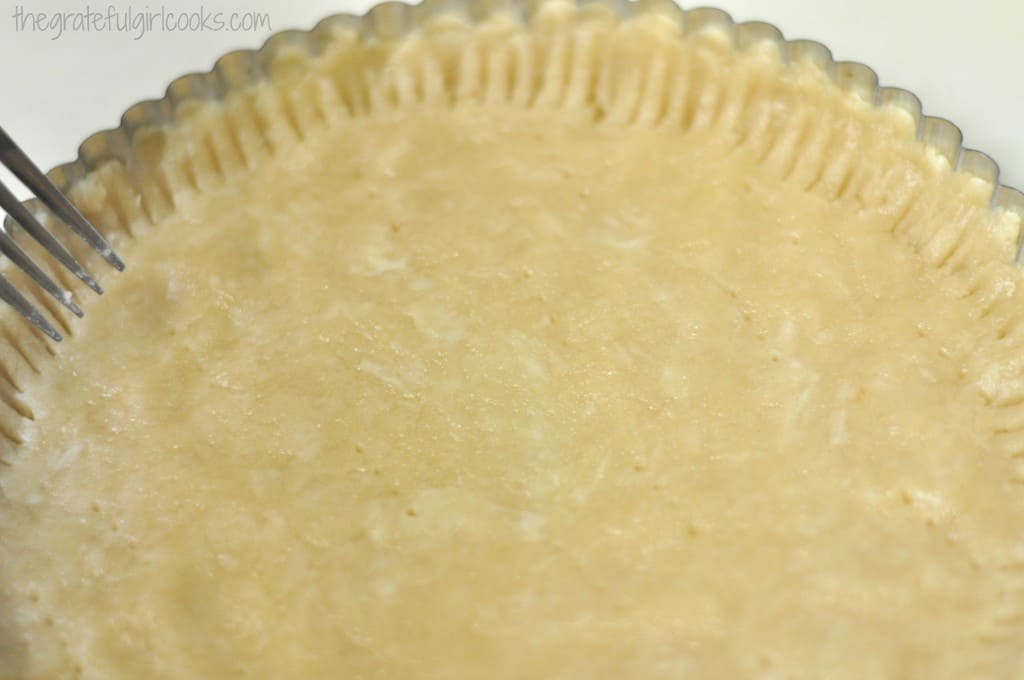 Once the tart crust has cooled completely, add the grated fresh ...