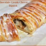 Chocolate Cream Cheese Danish
