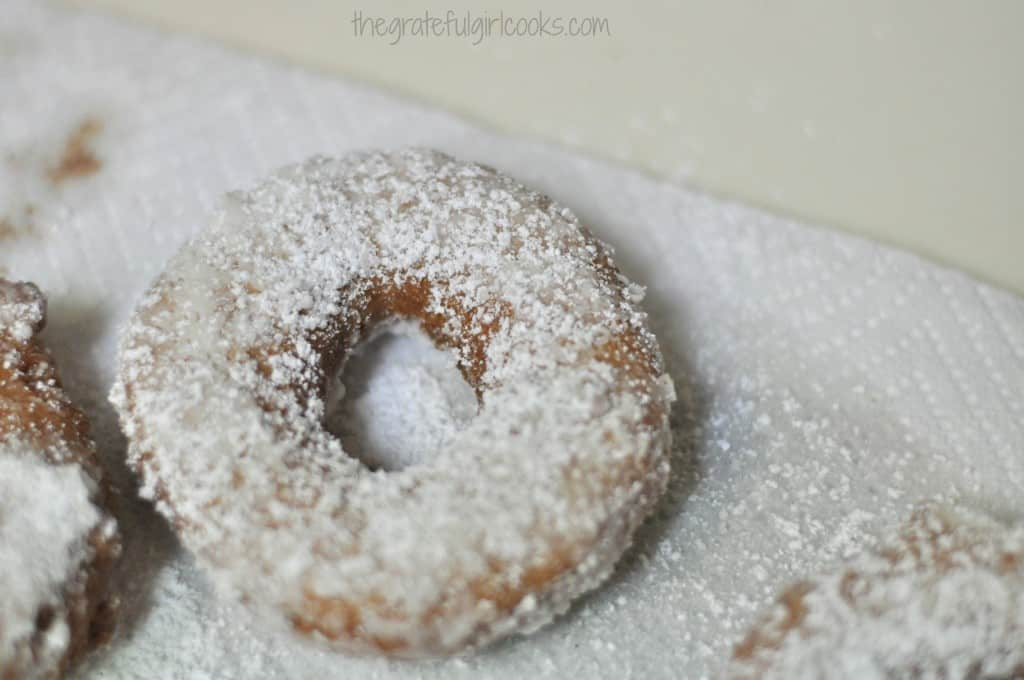 Old-Fashioned Cake Doughnuts / The Grateful Girl Cooks!