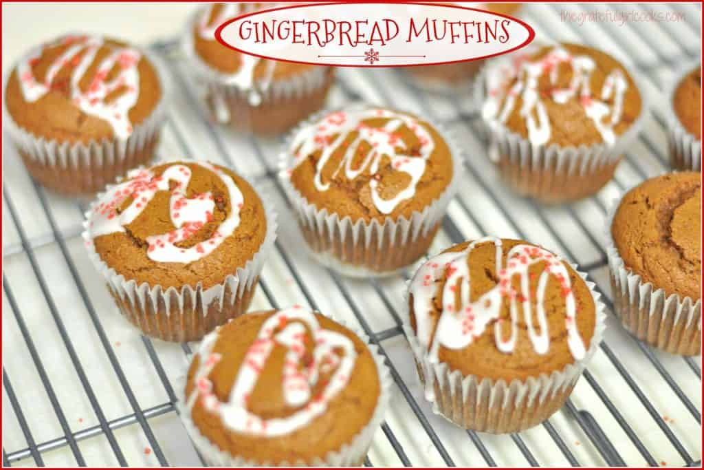 Gingerbread Muffins / The Grateful Girl Cooks!