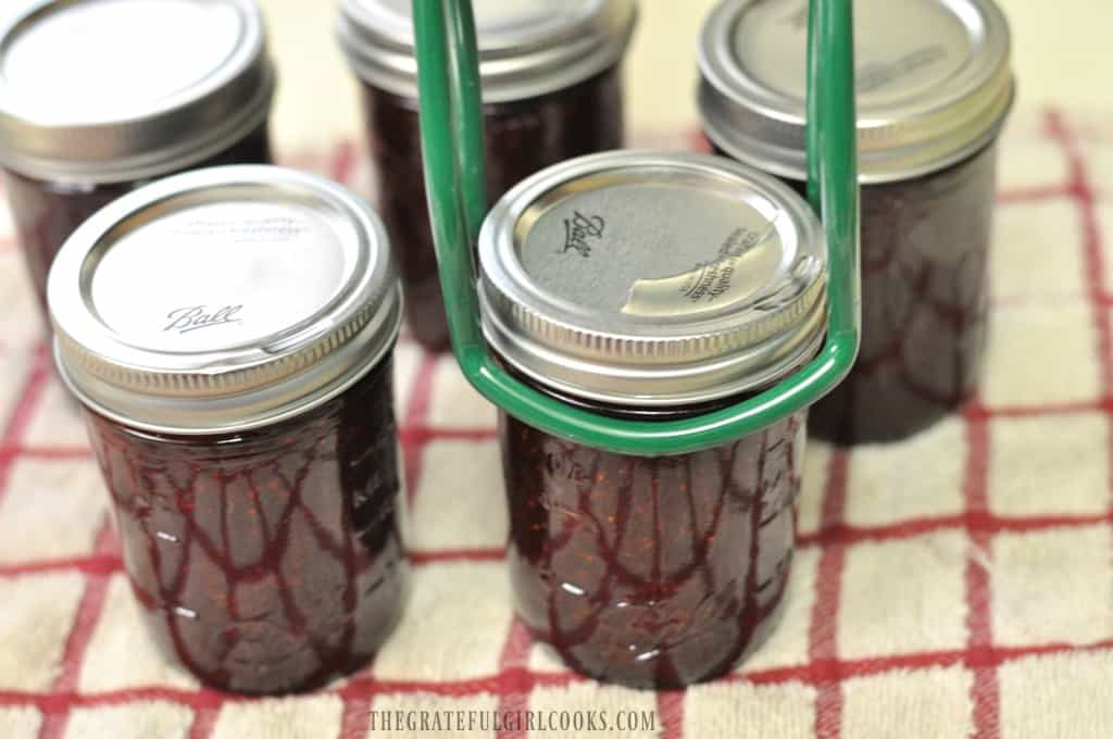 How To Can Strawberry Jam / The Grateful Girl Cooks!