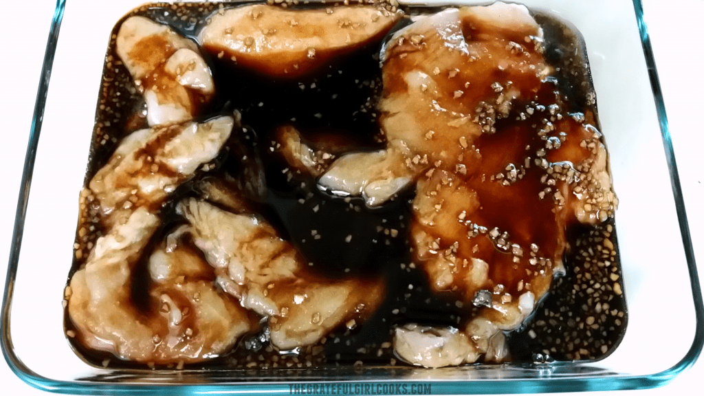 Teriyaki Chicken with Homemade Sauce / The Grateful Girl Cooks!