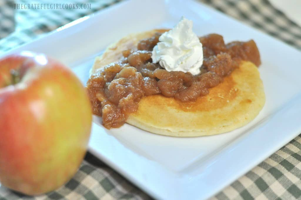 Chunky Crock Pot Apples / The Grateful Girl Cooks!