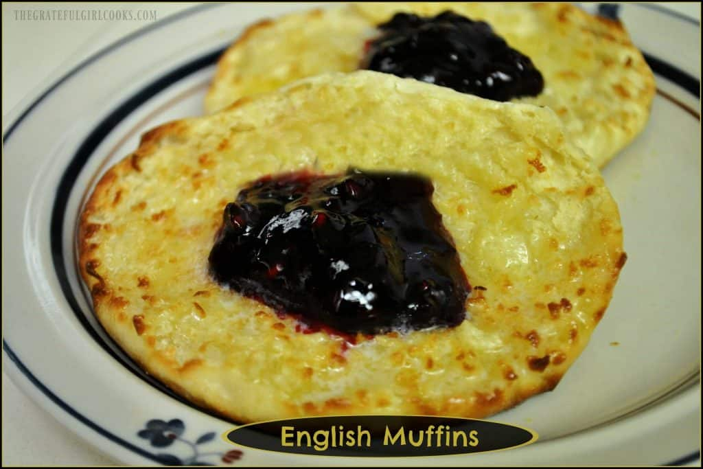 English Muffins / The Grateful Girl Cooks!