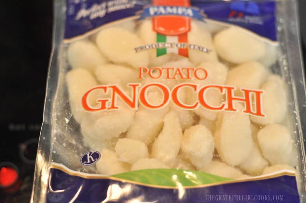 Chicken, Parmesan & Spinach Gnocchi / The Grateful Girl Cooks!
