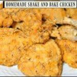 Homemade Shake And Bake Chicken