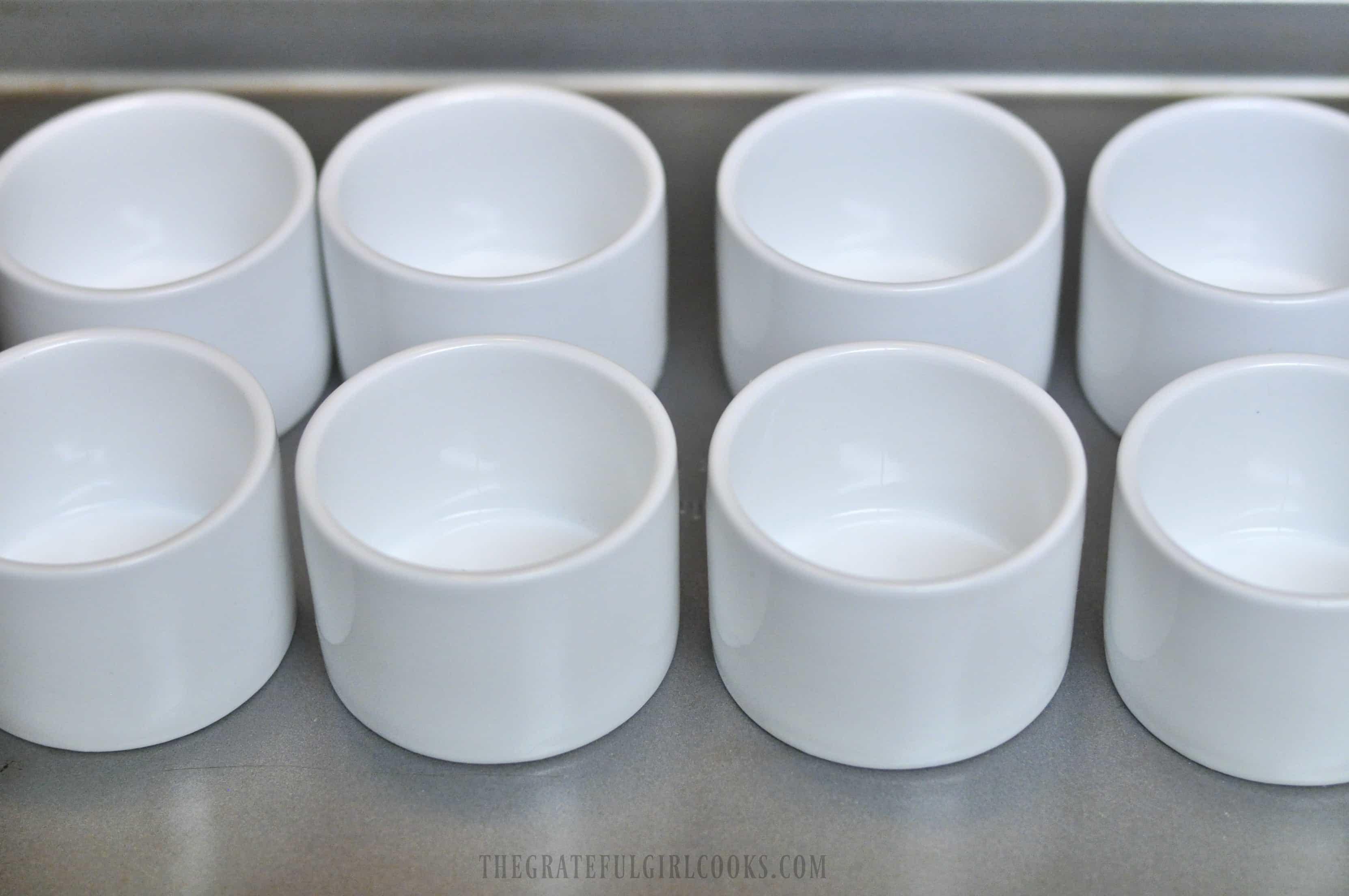 Irish Chocolate Pots de Crème / The Grateful Girl Cooks!