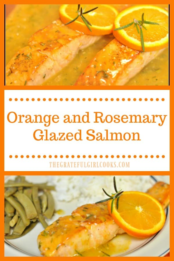 Long pin for Orange and Rosemary Glazed Salmon