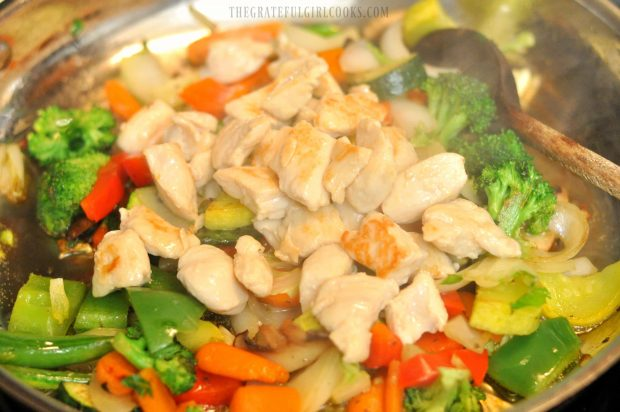 Chicken And Veggie Stir-Fry / The Grateful Girl Cooks!